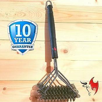 Kona Bristle Free BBQ Grill Brush Best Bristle-Free