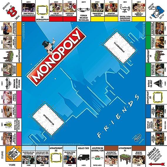 Winning Moves- Monopoly Friends-Versión Francesa, 0433: Amazon.es: Juguetes y juegos