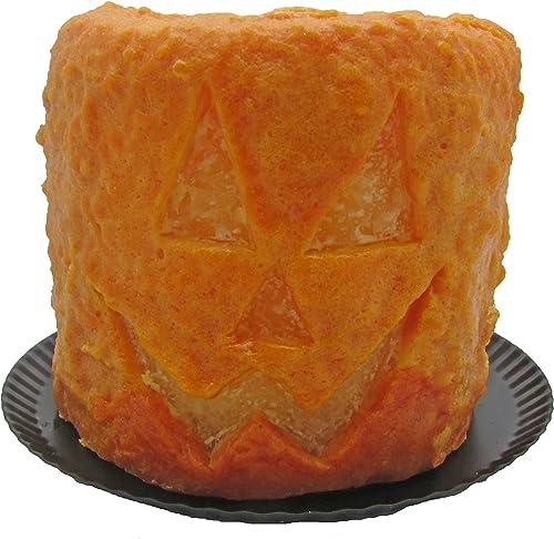Star Hollow Candle Co Pumpkin Pie Spice Jack O Lantern Electric Candle, 4 , Orange