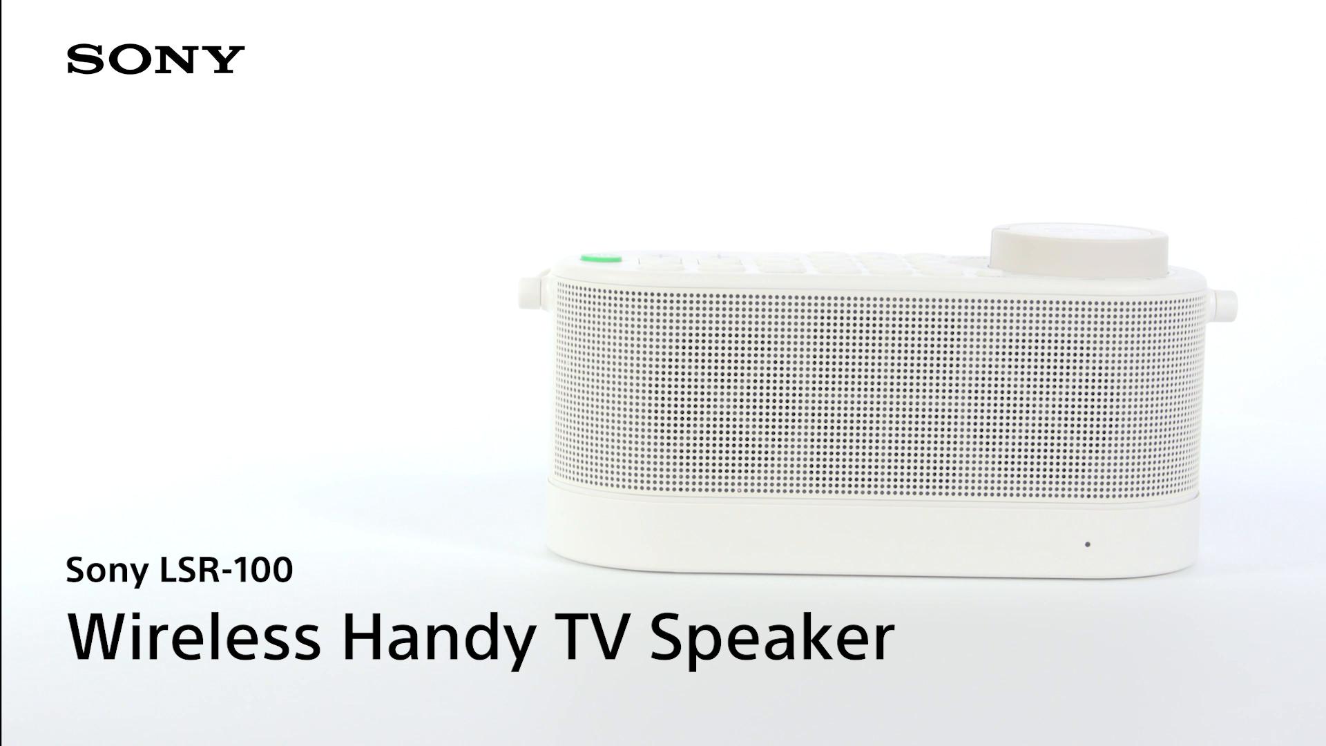 wireless handy tv speaker
