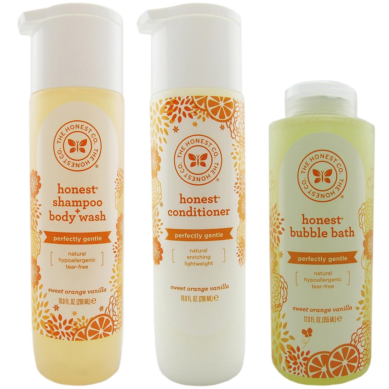 The Honest Company Shampoo & Body Wash, Conditioner, and Bubble Bath Variety Pack by The Honest Company   B00RYAJB7C
