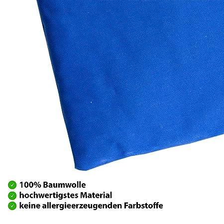 Bio huesos de cereza COJÍN de bonblatt® Incluye Certificado Öko-Tex 100 - Natural & Fair, fabricados en Alemania - adecuado como Cojín de calor, ...