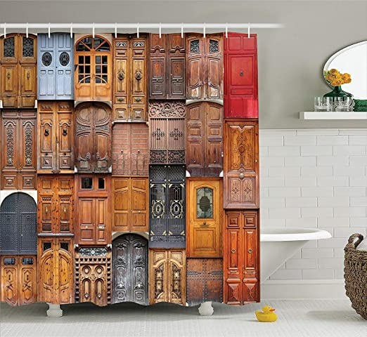 Colección de decoración rústica, puertas de Valencia, España ...