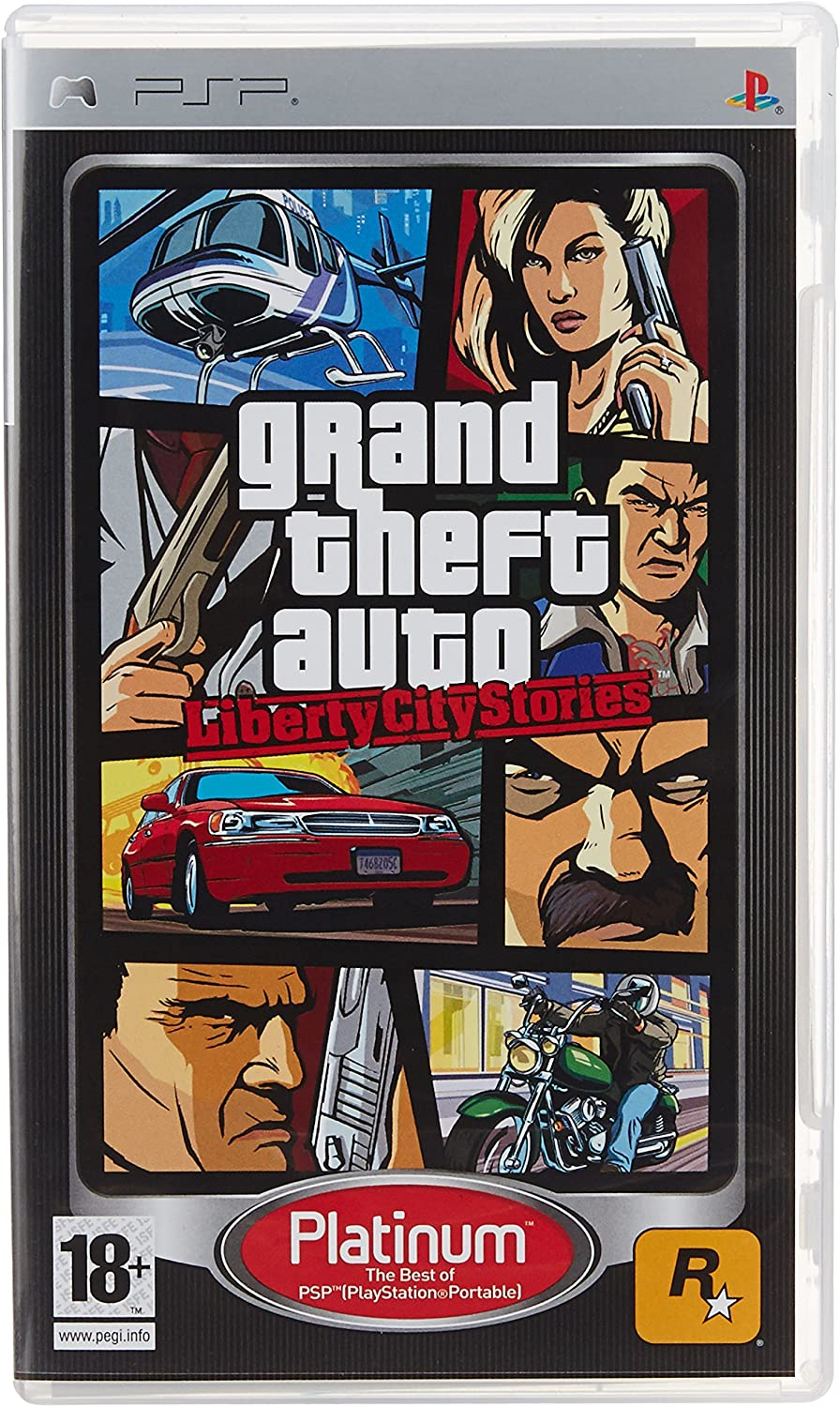 Amazon.com: Grand Theft Auto Liberty City Stories: Sony PSP ...