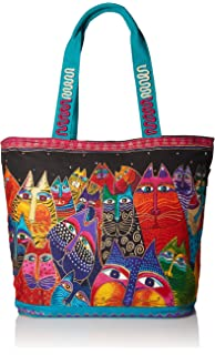 b26cffaf9e3 Amazon.com: Laurel Burch Oversized Tote, 20.5 by 5.5 by 15-Inch ...