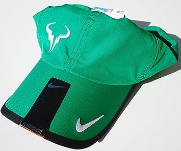 42116018ebad7 NIKE Nadal Bull Adult Unisex DRI-FIT FEATHERLIGHT Tennis Hat Fairway Green