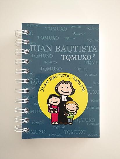 Pack de 3 libretas Tqmuxo JUAN BAUTISTA: Amazon.es: Oficina y papelería
