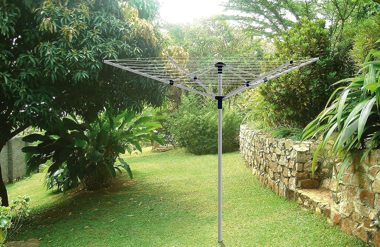 Gimi Garden 50 Tendedero, Gris, 181.5 x 33.5 x 22.5: Amazon.es: Hogar