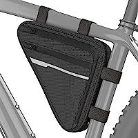 OYHN Bolsa para Manillar Multi Capa Bandas Reflectantes Duradero Bolsa para Bicicleta Tejido 300D poli/éster Bolsa para Bicicleta Bolsa de Ciclismo Ciclismo Bicicleta de Pista Bicicleta de Monta/ña Al