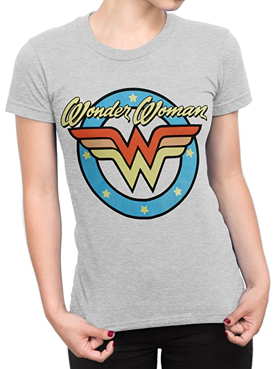 Retro Wonder Woman Tee Shirt - S to XXL