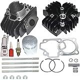 Amazon com: NICHE Cylinder Piston Gasket Cylinder Head Kit for