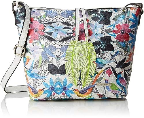 02cd692e53c Bulaggi Birdy Hobo Women's Shoulder Bag, Multicolour (Multi), 12x25x26  Centimeters (B