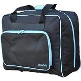foolsGold pro sac de machine à coudre rembourré épais Sacoche de transport - Noir/bleu