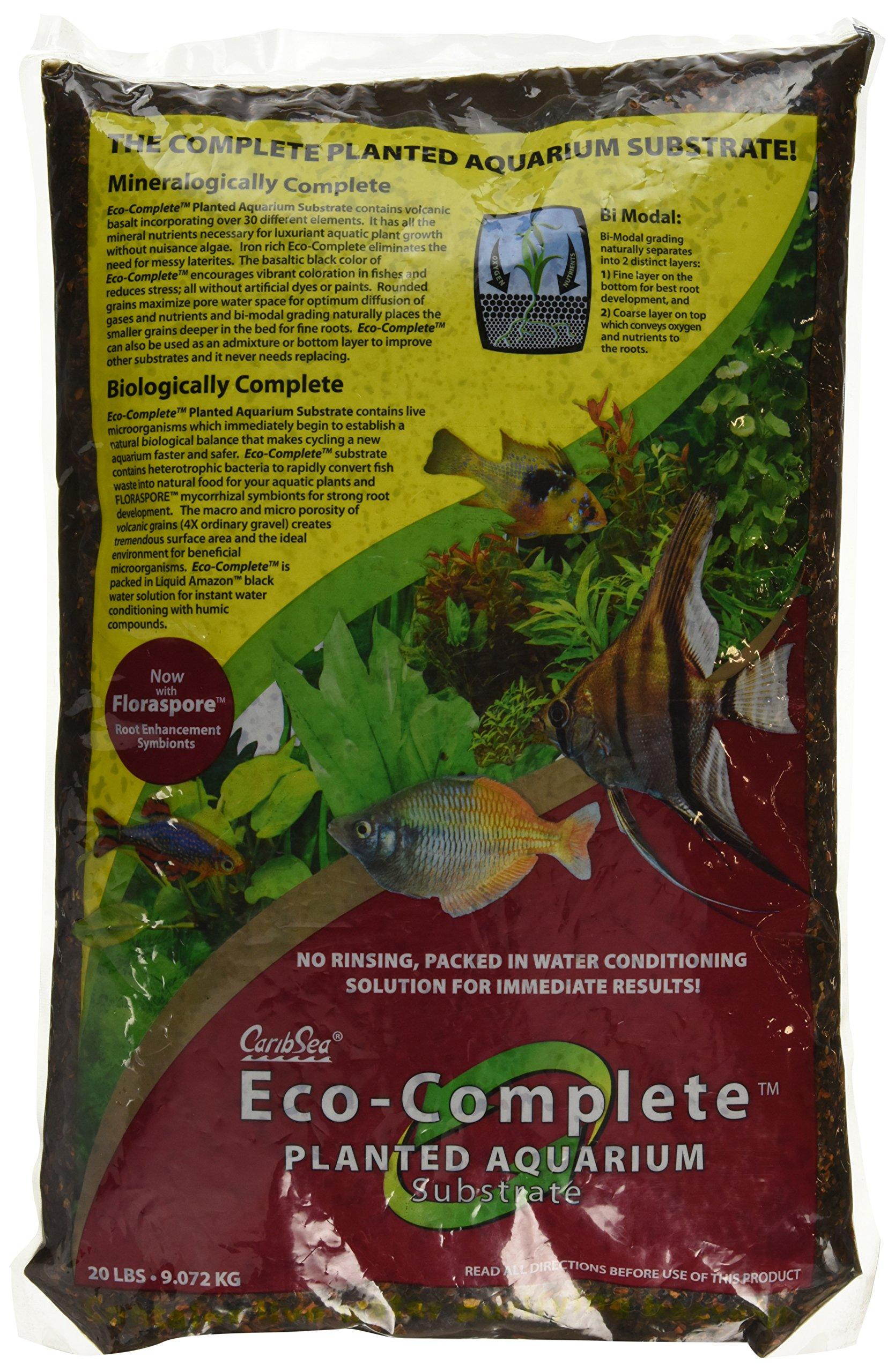 Carib Sea ACS00771 Planted Substrate for Aquarium, 2/20-Pound, Red Set of 2