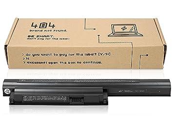 Wessper 404Brand Batería del Ordenador portátil para Sony Vaio SVE1712L1EW (10.8V, 4400 mAh, Negro, 6 Celdas): Amazon.es: Electrónica