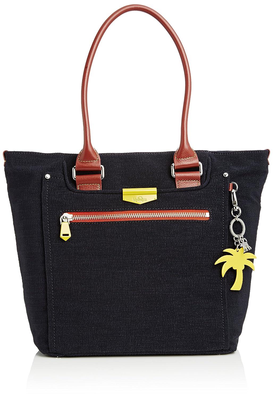 Kipling Life Saver, Shopper para Mujer, multicolor - Multicolour (Blue Block L) 45x32x20 cm: Amazon.es: Zapatos y complementos