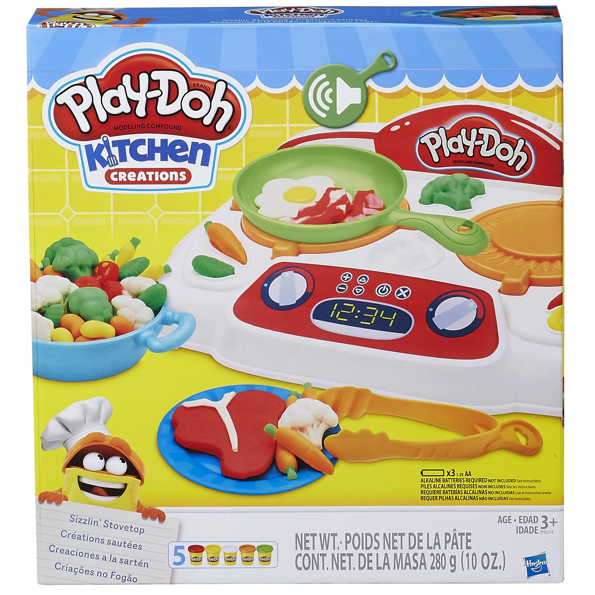 Play-Doh - B9014 - Kitchen Creations Sizzling Stovetop by Play-Doh (Image #9)
