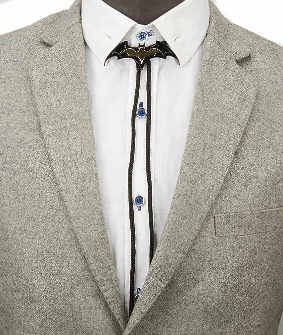 Knighthood - Corbatas de corbata, color negro y dorado: Amazon.es ...
