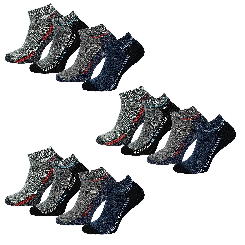 10 PAAR HERREN SNEAKER SOCKEN Größe 39-46 FREIZEITSOCKEN SNEAKERSOCKEN SNEACKER