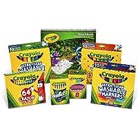 Crayola Crayons and Crayola Washable Marker Pack