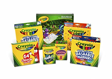 Toys For Boys Ages 6 7 : Amazon crayola drawing and coloring kit for kids art set