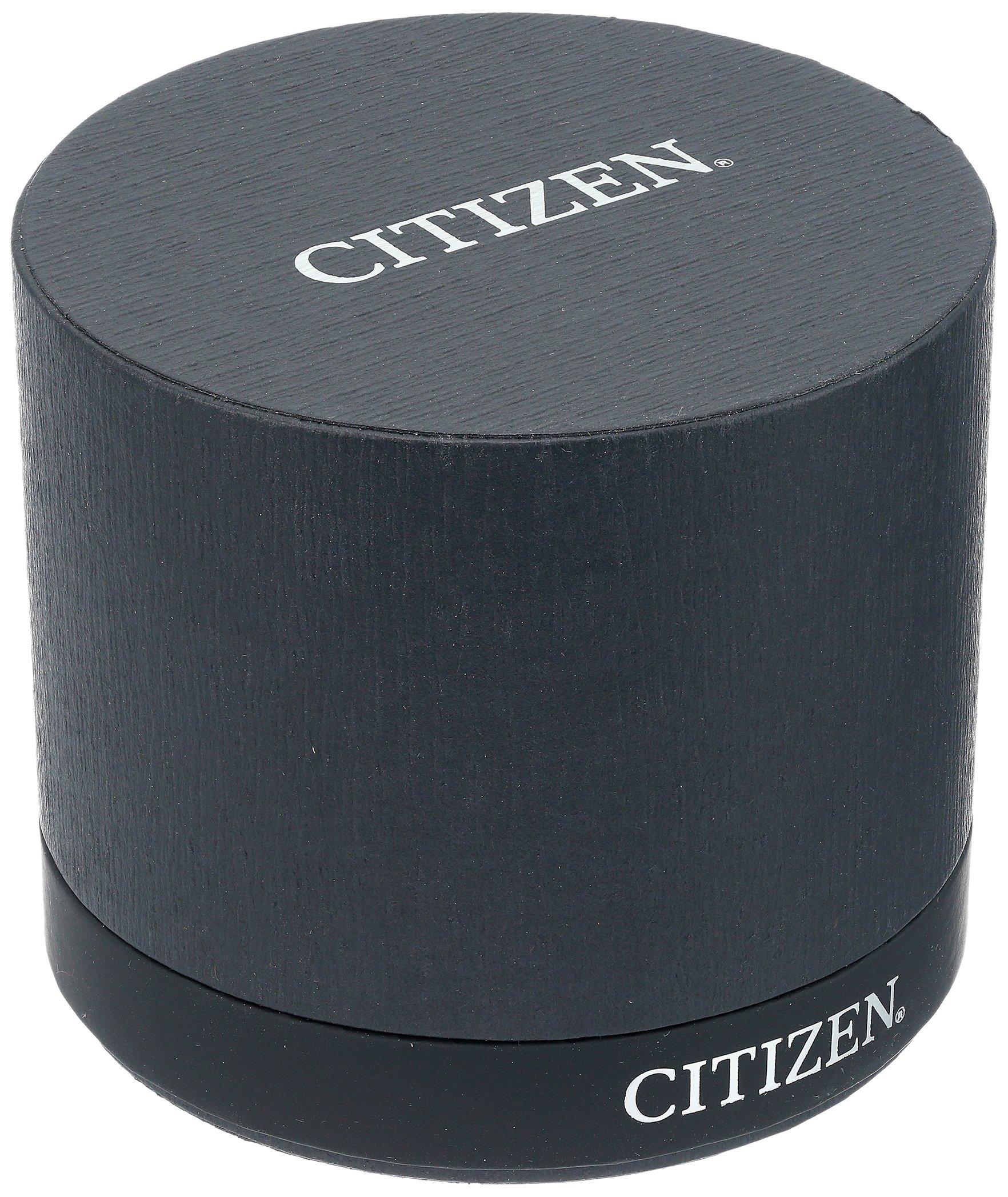 Citizen Men's Eco-Drive Titanium Quartz Brown Leather Calfskin Strap Casual Watch (Model: BL5551-06L) by Citizen (Image #3)