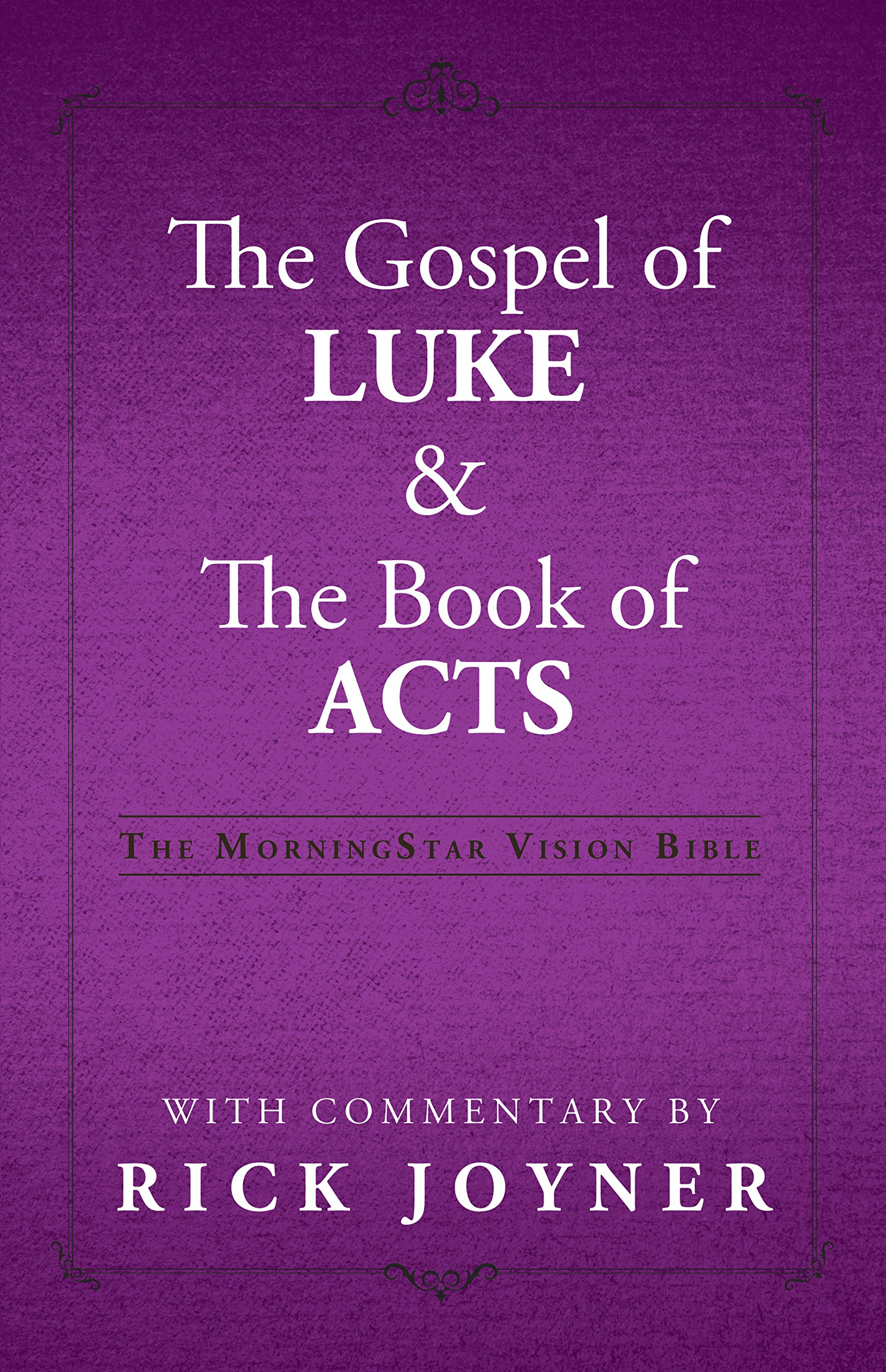 Read Online The Gospel of Luke & The Book of Acts pdf