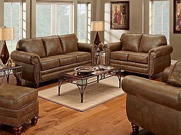 Stupendous American Furniture Classics 4 Piece Sedona Set With Sofa Loveseat Chair Ottoman Short Links Chair Design For Home Short Linksinfo