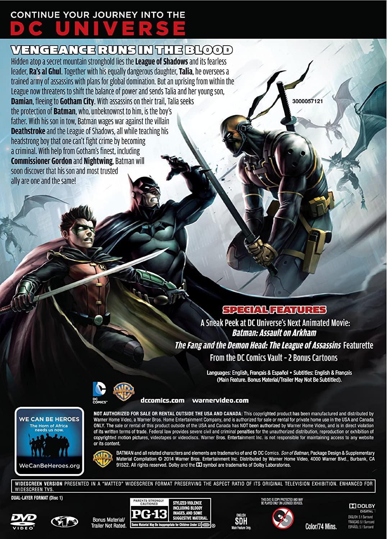 Amazon.com: DCU: Son of Batman (Two-Disc Special Edition ...