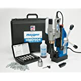 "Hougen HMD904 115-Volt Magnetic Drill w/coolant bottle plus 1/2"" drill chuck, adapter and 12002 rotabroach cutter kit"
