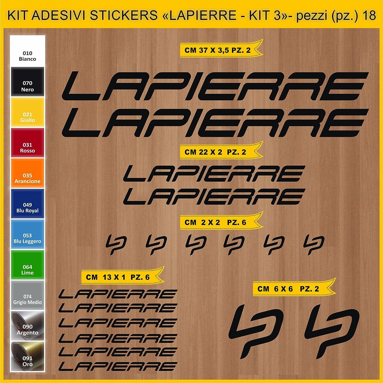 Kit Pegatinas Stickers Bicicleta Lapierre- Kit 3-18 Piezas- Bike ...