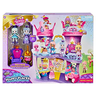 Shopkins Happy Places Royal Castle Playset: Toys & Games