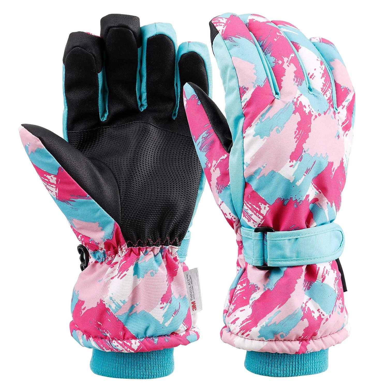 Galexia Zero Mens Womens Thinsulate Lined Waterproof Touchscreen Ski Gloves