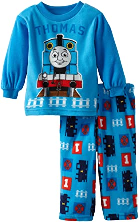 73ba4d147 Amazon.com  Thomas the Train Baby Boys  Thomas Fleece Pajama Set ...