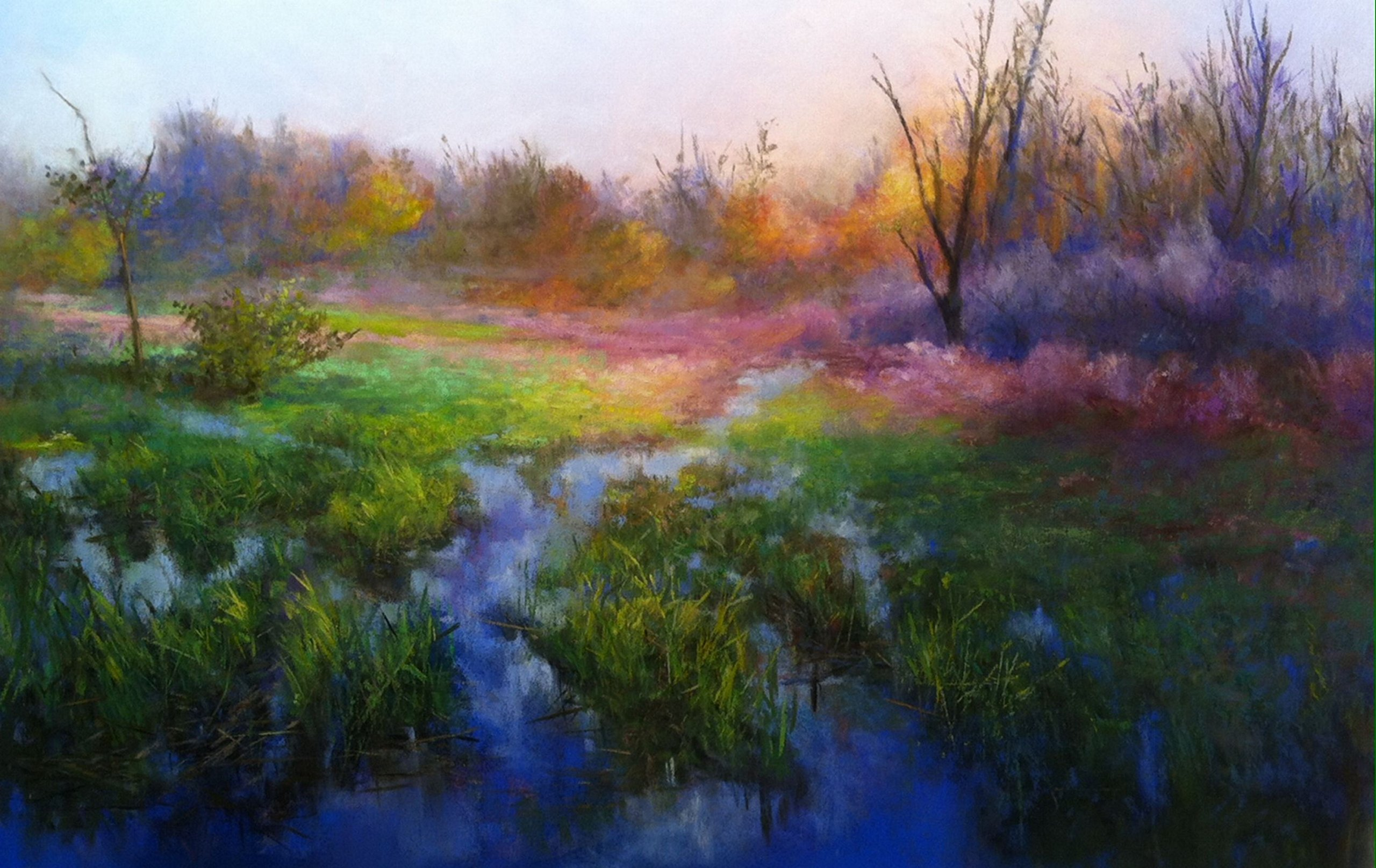 Marsh Meadow Morning by