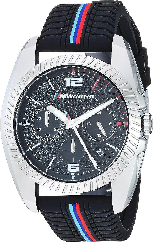 BMW Reloj analógico para Hombre de con Correa en Silicona BMW2000