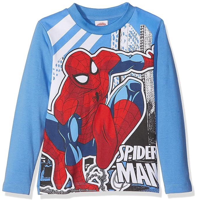 90cff2a5 Marvel Spiderman Jungen T-Shirt, 718 Bluette, 6 Jahre: Amazon.de: Bekleidung