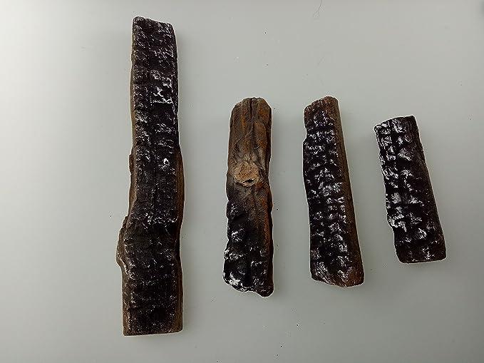 Amazon.com: hmleaf 4 piezas juego wood-like Chimenea Logs ...
