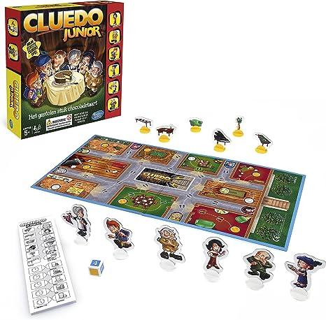 Hasbro - Cluedo Junior, El Caso de la Tarta desaparecida (B0335100 ...