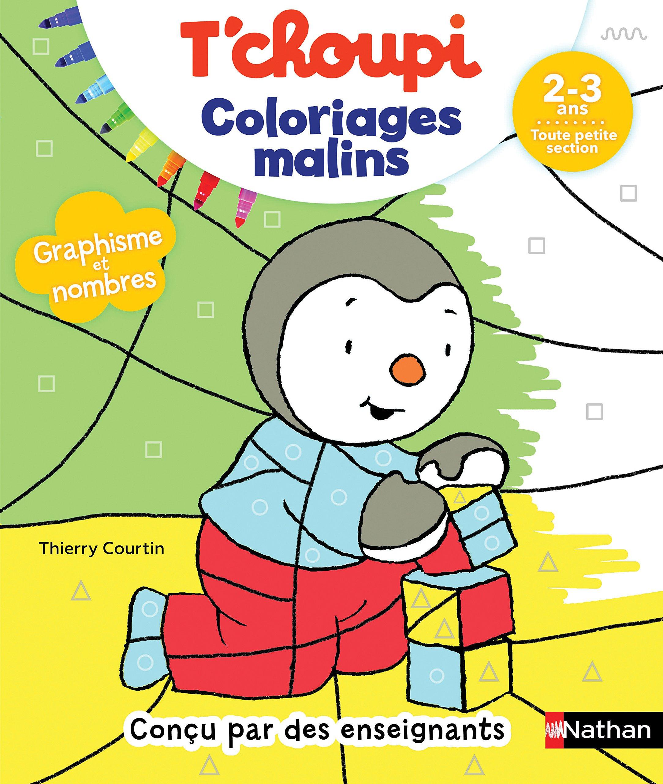 T'choupi Coloriages malins 322 32 ans Toute petite section ...