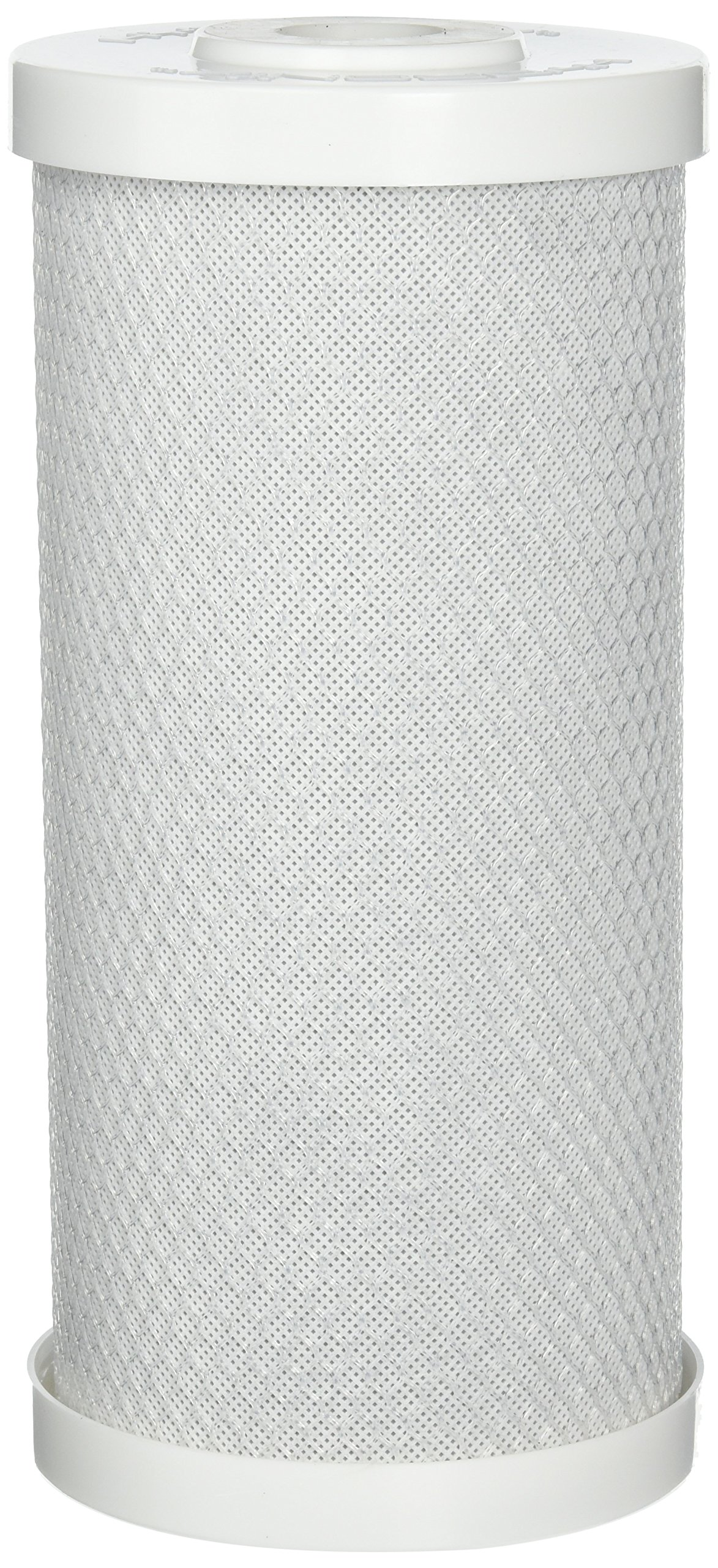 Hydronix CB-45-1010 Whole House or Commercial NSF Coconut Activated Carbon Block Water Filter, 4.5'' x 10'' - 10 Micron