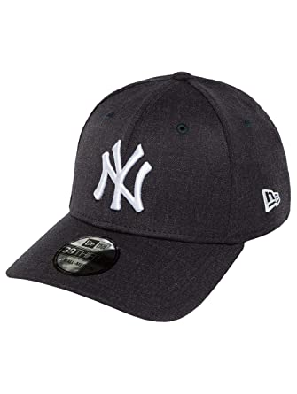 Gorra béisbol 39THIRTY Heather Team N. Y. Yankees New Era-Azul Marino: Amazon.es: Ropa y accesorios