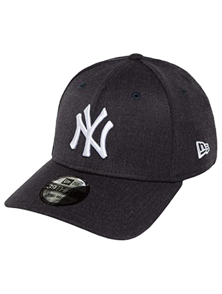 Gorra béisbol 39THIRTY Heather Team N. Y. Yankees New Era-Azul Marino   Amazon.es  Ropa y accesorios 544106b0028