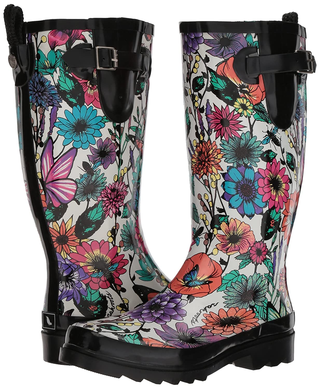 The Sak Women's US|Optic Rhythm Rain Boot B077ZGRQBW 7 B(M) US|Optic Women's in Bloom 7e66c1
