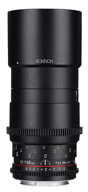 Amazon.com : Rokinon Cine DS 100mm T3.1 ED UMC Full Frame Telephoto ...