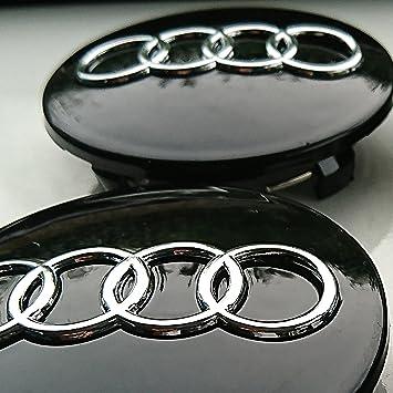 Tapacubos de neumáticos de repuesto para Audi en aleación de aluminio,