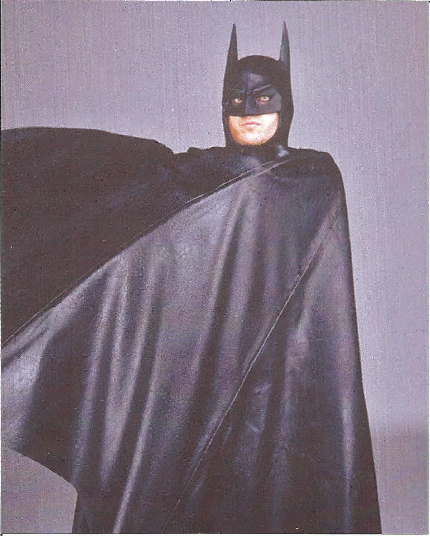 baskets pour pas cher acheter pas cher nouveau style de vie Batman Michael Keaton wrapped in cape - 8 x 10 Costume Test ...