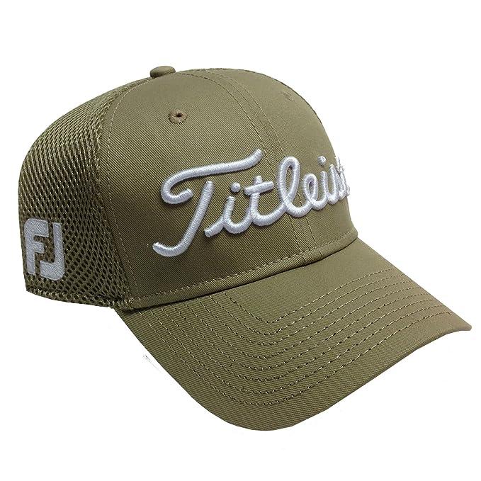 2a0417ac914 New 2014 Titleist Sports Mesh FJ ProV1 Structured Cap Hat
