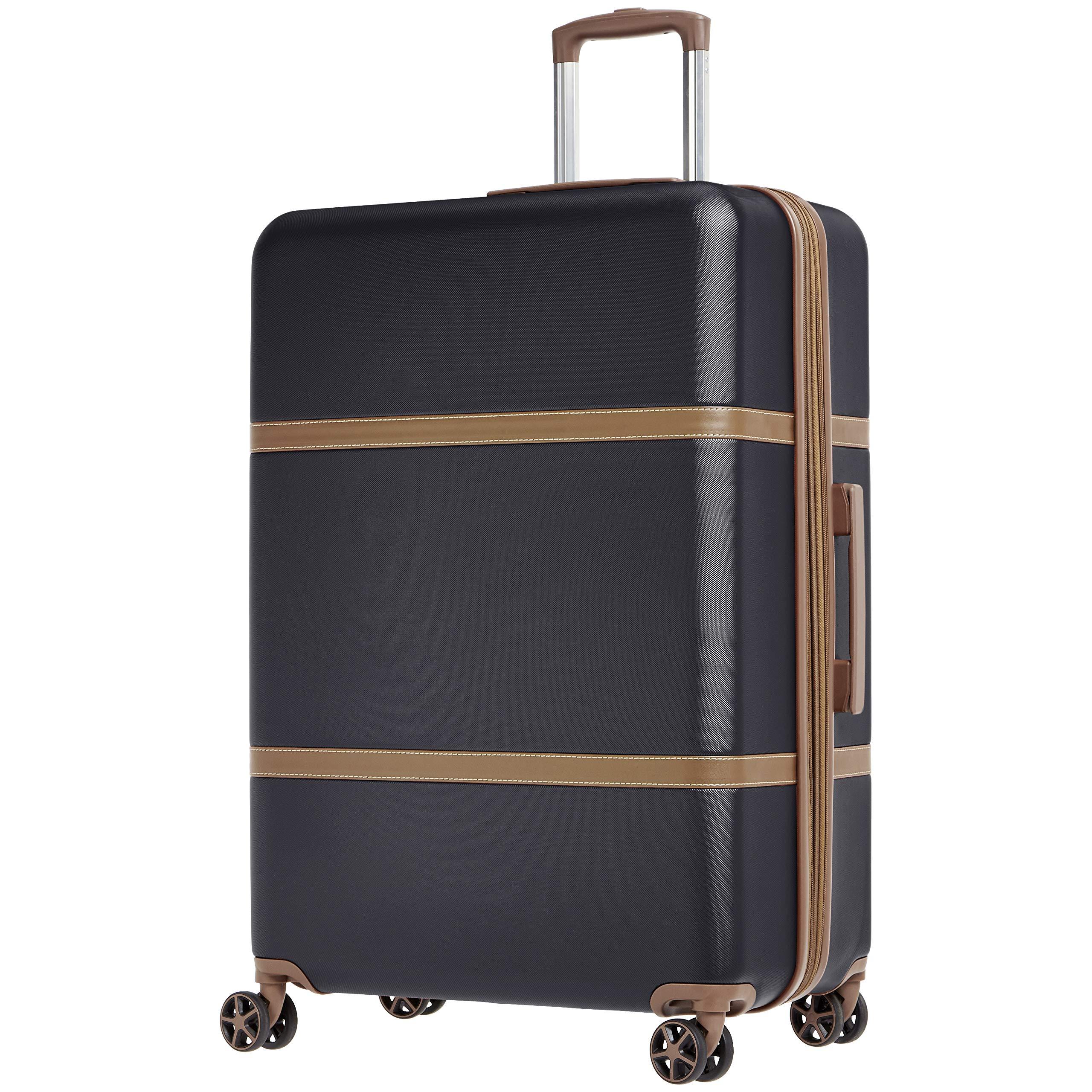 AmazonBasics Vienna Expandable Luggage Spinner Suitcase - 28 Inch, Black by AmazonBasics