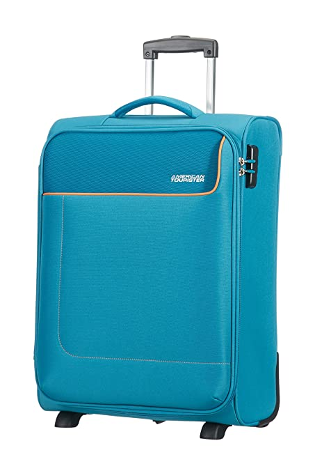 db707521b American Tourister Funshine 2 Roues 55/20 Bagage Cabine, 55 cm, 39 L, Blue  Ocean: Amazon.co.uk: Luggage